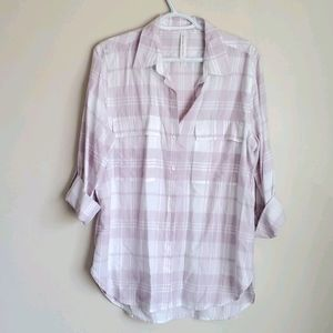 Babaton The Group Checked Blouse